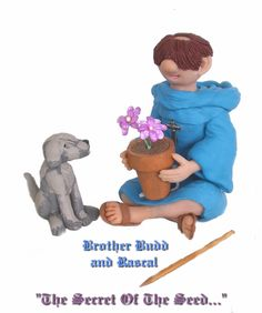 Brother Budd and Rascal are more of my Pot Picks by Sig. Brother Budd is the first pick from my Abbey Antics series.  Sold at the Artsy Diva Boutique in Bethlehem, PA in February.