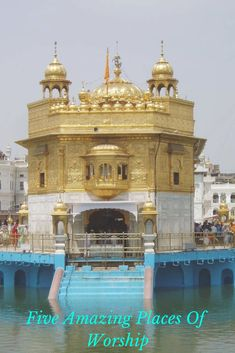 May Milwaukee rise against this devastation with compassion. The Golden Temple–or the Abode of God–is a sacred Sikh shrine located in Punjab, India. The temple is said to symbolize infinite freedom and spiritual independence. Harmandir Sahib, Golden Temple Amritsar, Hindu Temple, Temple India, Borobudur, Shimla, Varanasi, Travel Tours, Place Of Worship