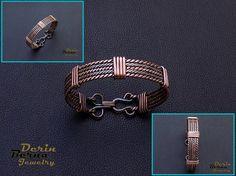 Men copper cuff bracelet,Men Bracelete copper,Braided Men Bracelet,Men accessories,Men viking cuff Bracelet,Mens Cuff Bracelet,Free Shipping