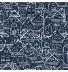Home seamless background vector by Tatishdesign on VectorStock®