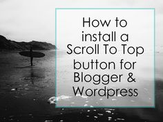 how to scroll to top button