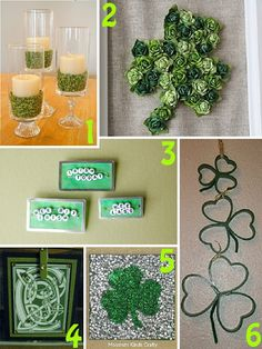 st. patricks day decor and crafts