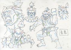 Street Fighter > Thread > Akuma and Gouken