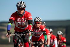 On the move. Great to cycle with Miranda who became the first female Unogwaja in flying colours!