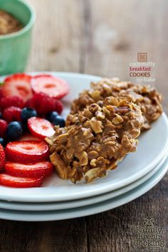Coconutty Breakfast Cookies | No-Bake on FamilyFreshCooking.com