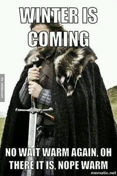 Winter is coming - meme - http://www.jokideo.com/