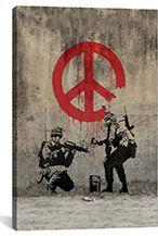 Banksy is one of the most prolific street artists of our time. He's a graffiti master, painter, activist and filmmaker who's taken the art world by storm. Often satirical, Banksy's work combines dark humor with graffiti, spreading messages on philosoph Banksy Graffiti, Street Art Banksy, Graffiti Artwork, Graffiti Wall, Graffiti Painting, Bansky, Banksy Posters, Berlin Graffiti, Graffiti Artists