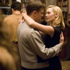 "#LeonardoDiCaprio as Frank Wheeler adn #KateWinslet as April Wheeler in ""Revolutionary Road"" (2008)"