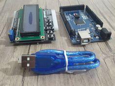 امروز رسید به دستم..  آردوینو مگا 2560 و شیلد lcd Just today i got these. #Arduino mega 2560 #LCD #Shield #electronic #iot #board #embedded #embeddedsystems #engineering by jmsalehi