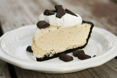 Chocolate Peanut Butter Pie and more recipes This is not a picture of it but I'm going to make it for my Lizzy...by popular request