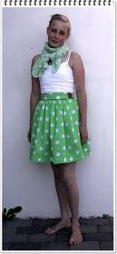 Tutorial: DIY - high waist skirt with zipper