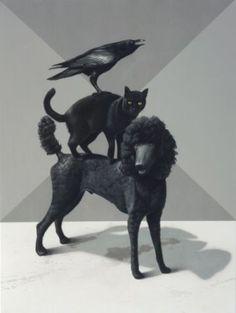 Eckart Hahn, Tale, 2011, Acryl auf Leinwand, 80 x 60 cm
