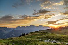 Sonnenaufgang Säntis