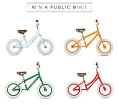 PUBLIC Bicycles just released a new line of bikes to help little kids learn how to ride. The new...