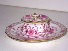 MEISSEN Porcelain, Lady inkwell