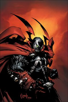 SPAWN ALTERNATIVE COVER ISSUE 200 BY GREG CAPULLO by Doarted