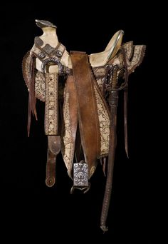 1920s Mexican Saddle with Sword