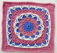 """Ravelry: Project Gallery for Anticipation Mystery Afghan 12"""" block pattern by Margaret MacInnis"""