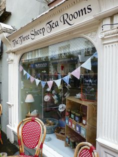 Tales from a Travelling Tea Girl - The Three Sheep Tea Room in Skipton Yorkshire