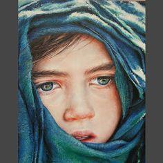 Akiane Kramarik ~ Young Sage. She painted this at the age of 15.