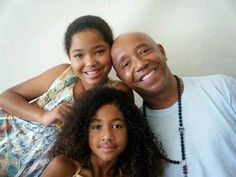 Great men make great fathers … Russell Simmons
