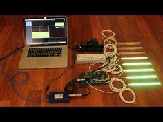 LED strips VU-meter test
