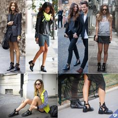 How to wear cut out boots, well it enhance almost every appearance New Fashion, Trendy Fashion, Fashion Show, Autumn Fashion, Womens Fashion, Cutout Boots, Cut Out Design, Piece Of Clothing, Style Me