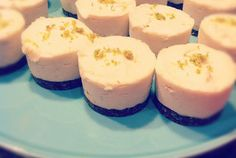 Mini Coconut Lime Cream Cakes (Raw, Vegan, Gluten Free, Grain Free, Soy Free, Dairy Free, Egg Free)