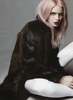 Abbey Lee Kershaw by Daniel Jackson for Vogue China  viaTumblr
