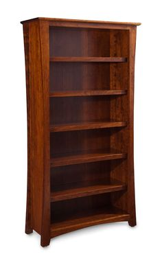Loft Bookcase from Simply Amish furniture.