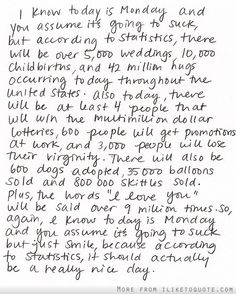 Some Monday Inspiration