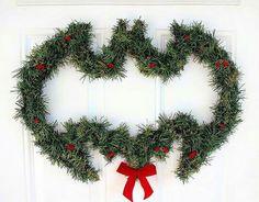 Batman Christmas Door Ornaments