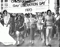 1970 #Gay #Protest #March Stonewall Riots, Stonewall Uprising, Liberation Day, Lgbt History, Oral History, Lgbt Rights, Human Rights, Somebody To Love, Pride Parade