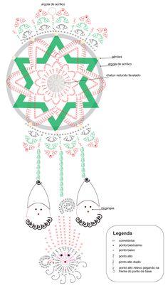 Crochet Christmas Cozy, Crochet Christmas Decorations, Crochet Decoration, Christmas Crochet Patterns, Crochet Blanket Patterns, Christmas Crafts, Crochet Birds, Crochet Cross, Crochet Mandala