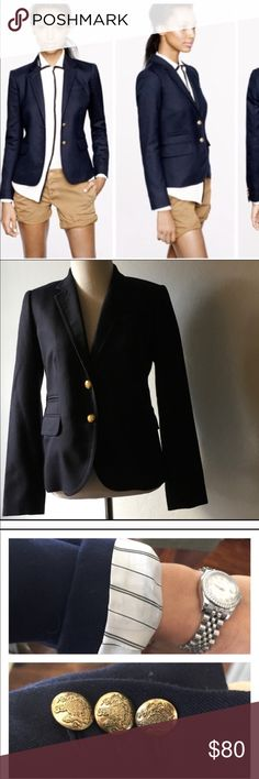 PRICE DROPPED  JCrew Schoolboy Navy Blazer Navy original schoolboy blazer. This is extremely sophisticated and well tailored. J. Crew Jackets & Coats Blazers