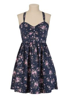 Floral Print Tank Dress - maurices.com