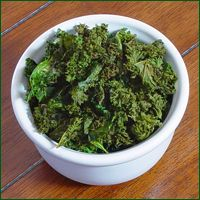 Dehydrated Lemon Kale Chips Recipe