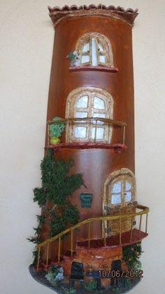 tejas decoradas en relieve   Aprender manualidades es facilisimo.com