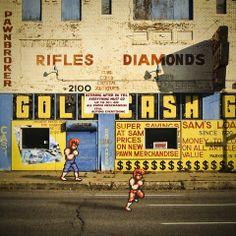 ゲームのキャラを現実世界に混ぜた画像が凄い|ラビット速報