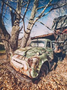 Vintage American Truck is a photograph by Stuart Monk. A vintage American truck decaying on a farm. Source fineartamerica.com