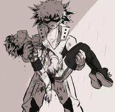 My hero academia - bakugou & midoriya my hero academia герои My Hero Academia Memes, My Hero Academia Tsuyu, Hero Academia Characters, My Hero Academia Manga, Buko No Hero Academia, Sad Anime, Me Me Me Anime, Anime Manga, Chibi