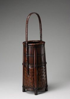 Flower arranging basket, made in Japan, c.1912-89