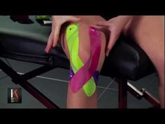 Strapping with KT Tape Europe Full Knee Taping