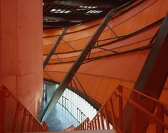 Zenith music hall by architects Massimiliano and Doriana Fuksas has opened in Strasbourg, France. Membrane Structure, Dezeen, Strasbourg, Architecture Design, Stairs, France, Gallery, Music, Photography