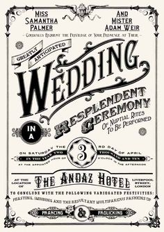 Love this vintage invite