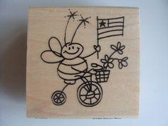 Stampendous Biker Bee
