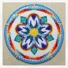 Some past work 🌸💜🌸 Native Beading Patterns, Beadwork Designs, Beaded Earrings Patterns, Seed Bead Patterns, Native Beadwork, Peacock Embroidery Designs, Embroidery Flowers Pattern, Beaded Embroidery, Native American Regalia
