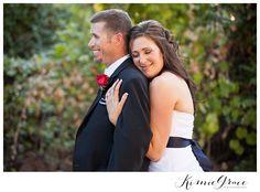 Backyard grapevine wedding - kimiegracephoto.com