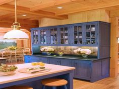 Log Cabin Kitchens | Tags : cabin curtains , rustic cabin furniture , cottage…