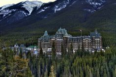 Fairmont Hotel at Banff, AB, Canada.  Visited this hotel along with Lake Louise during the MasterWealth Retreat in 2008.